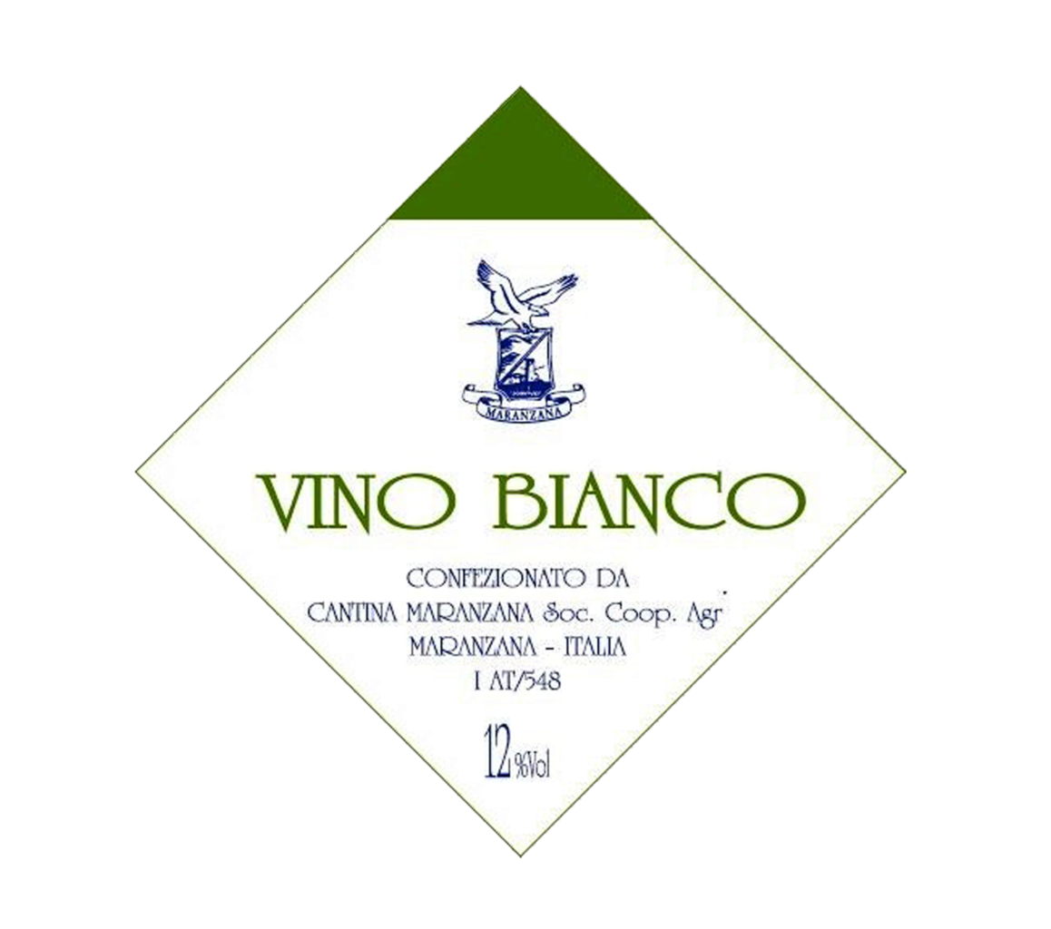 Bag in box - Vino bianco 12% - 5 lt.